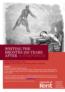 Writing the Brontës 200 Years After: A Symposium -- University of Kent